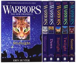 Warrior Cats Collection 6 Books Gift Set Pack Midnight Moonrise Dawn Starlight Twilight Sunset Erin Hunter 9780007931057 Amazon