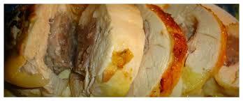 cuisiner un chapon farci toutes nos recettes roulé de chapon farci au foie gras