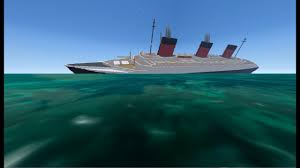 Uss America Sinking Photos by From The Depths Sinking Ss Normandie Minecraft Design Youtube