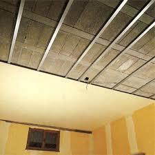 isolation d un plafond de sous sol en hourdis