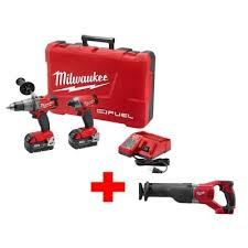Home Depot Milwaukee M18 FUEL 18 Volt Cordless Lithium Ion