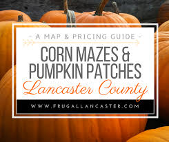 Pumpkin Patch Massachusetts by Corn Mazes And Pumpkin Patches In Lancaster County Frugal Lancaster