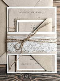 Cheap Country Wedding Invitations Affordable Handmade Kits
