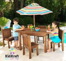 Broyhill Outdoor Patio Furniture by Amazon Com Kidkraft Outdoor Table And Chair Set With Cushions