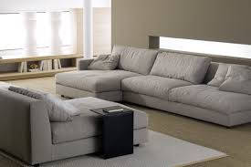 canapé simple canapé contemporain en coton 3 places gris simple by fl
