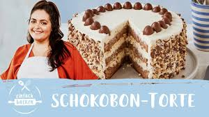 schokobon torte einfaches rezept mit mascarpone