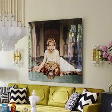 Aarons Living Room Furniture by Slim Aarons U201cbeauty And The Beast U201d Photograph Modern Art
