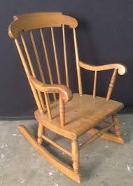 Child's Wooden Rocking Chair Sold Antique Mission Style Rocking Chair Refinished Maple And Leather Adams Northwest Estate Sales Auctions Lot 12 Vintage Wood Mini Rocker 3 Vintage Wood Carved Rocking Chairs Incl 1 Duck Design Seat Tell City Company Love Seat Projects In Childs Wooden Refurbished Autentico Bright White Victorian W Upholstered Back Wooden Chair Ldon For 4000 Sale Shpock With Patchwork Design On Backrest Batley West Yorkshire Gumtree Child Doll Red Checked Fabric