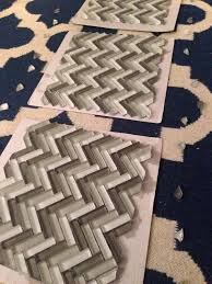 how to install herringbone backsplash tile snapguide