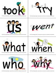 SnapWordsR Sight Word List B Pocket Chart Cards