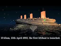 titanic sinking animation 2012 sinking of the titanic based on 2012 theory sailor