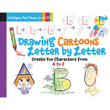 Drawing Cartoons Letter By Letter Hobbycraft