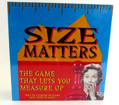 Size Matters Hilarious Adult Fun Party Board Game Friends Family Teenagers New 1499
