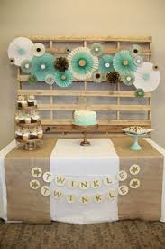 Image Gallery Of Star Themed Baby Shower Decorations Tittle