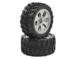 100 Truck Tires And Wheels Dromida PreMounted 118 Monster Tire 2 DIDC1045 Cars
