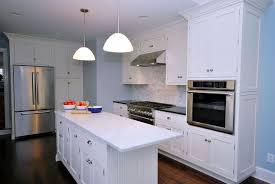 Painted White Kitchen Cabinets for an Elegant Country Kitchen