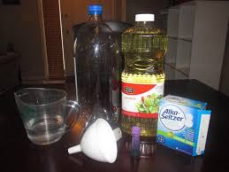 First Thing You Do Is To Add About 1 Cup Of Water Your 2 Liter Bottle Using The Funnel Next Canola Oil Again Top