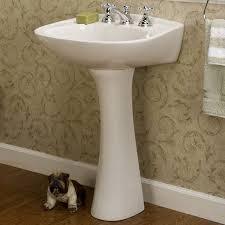 barclay 3 314 hartford 4 centerset pedestal bathroom sink