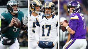 The pletely improbable timeline of Nick Foles and Case Keenum