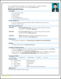 25 Best Engineering Resume Format Free Sample Mechanical Templates