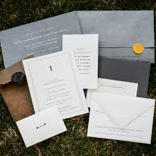 30 Modern Wedding Invitations We Love