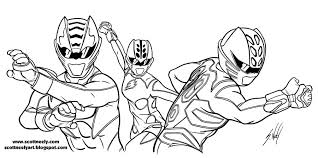 Power Ranger Jungle Fury Coloring Pages 4 Free Rangers To Print Online