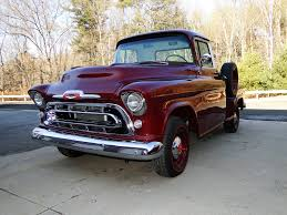 1957 Chevrolet 3100 | Legendary Motors - Classic Cars, Muscle Cars ... Chevrolet Other Pickups 3100 Cab Chassis 2door 1957 Chevrolet Collector Truck 6400 Top 10 Trucks Of 2010 Chevy Truck 55 Hot Rod Network Left Side Angle 59 Pick Up For Sale 2199328 Hemmings Motor News Stepside Pickup 3a3104 Pistons Pinterest Engine Install Duncans Speed Custom Chevytruck Ct7578c Desert Valley Auto Parts Rare Apache Shortbed Original V8 Big
