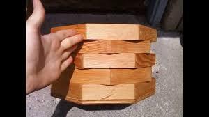 wood octagon planter box jcww 07 youtube
