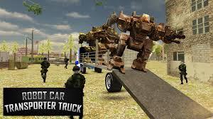 100 Car Truck Games Robot Transporter