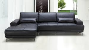 Ergonomic Living Room Furniture by Black Rocco Sectional Sofa Zuri Furniture