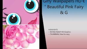 Girly Wallpapers HD EUR Beautiful Pink Fairy Images For Girls Home Loc IPhone IPad Review