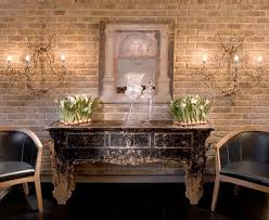 Romantic Wall With Bricks For A Rustic Look Point