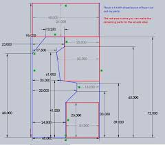 Arcade Cabinet Plans Metric by Mame Cabinet Size Memsaheb Net
