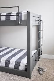 Triple Bunk Bed Plans Free by Best 10 Industrial Bunk Beds Ideas On Pinterest Industrial Kids