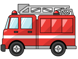 100 Fire Truck Red Clipart Png