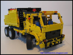 100 Rubbish Truck LEGO IDEAS Product Ideas Technic With Rear Bin Lifter