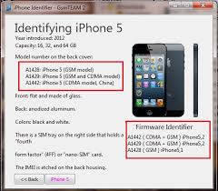 GsmTEAM 2 iPhone identifier Download IOS firmware based on your