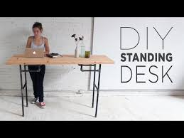 Lifehacker Best Standing Desk by Build A Standing Desk That Converts To A Work Table