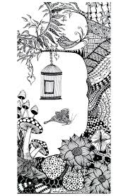 Coloring Page Butterfly Bird Environment From Free Pages Insects To Print Out Bugs Full Size