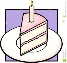 slice of birthday cake clipart 6