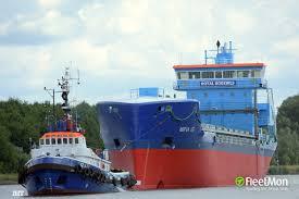 100 Atlant Vessel ATLANT PusherTug IMO 7730769 MMSI 261001070