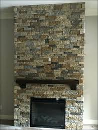 Home Depot Wall Tile Fireplace by Faux Stone Fireplace Mantels Makeover How Wall Rock U2013 Apstyle Me