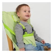 chaise bébé nomade sack n seat bretelles anis chaise bébé nomade vive bébé