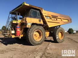 100 End Dump Truck Used 2006 Caterpillar 777D Haul In YATALA QLD Price 230000