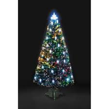 Fibre Optic Victorian Artificial Christmas Tree With 32 LED Lanterns