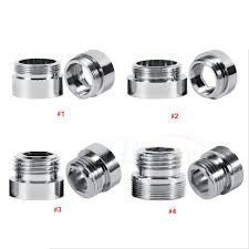 Faucet Aerator Adapter Canada by New Solid Metal Adaptor For Water Saving Kitchen Faucet Tap