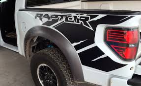 100 Ford Truck Decals Product Raptor SVT F150 Bedside Predator Vinyl Graphics