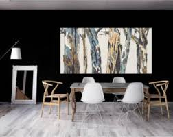 Canvas Wall Art For Dining Room by Extra Large Wall Art Oversized Triptych Set Dining Room