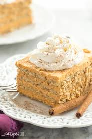 Pumpkin Pie Icebox Cake