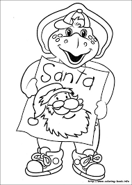 Barney And Friends Coloring Pages 22